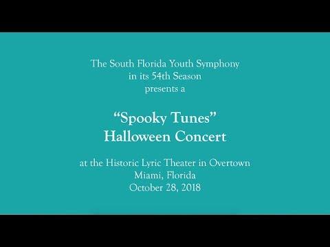 "SFYS ""Spooky Tunes"" Halloween Concert (10/28/18)"