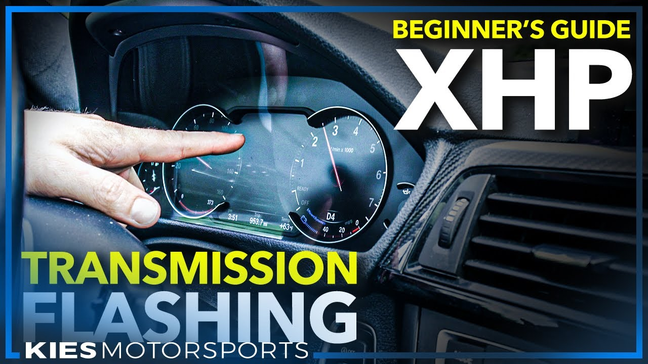 How to use XHP Flashtool to Flash your F Series BMW Transmission (F30 Trans  Flashing!)