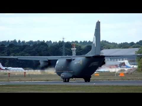 Hercules C130 in Farnborough International AirShow 2010