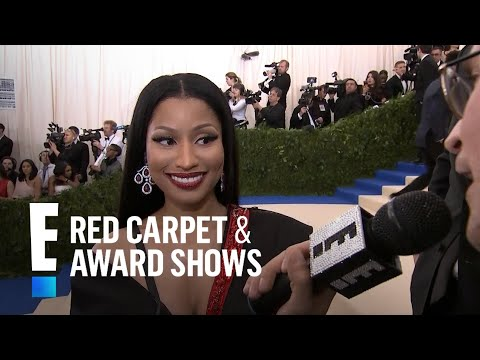 Nicki Minaj Talks New Music at 2017 Met Gala | E! Live from the Red Carpet