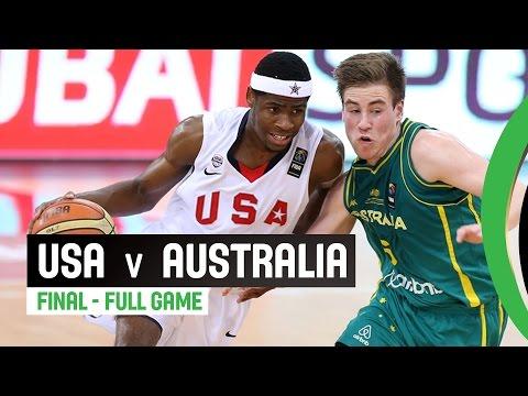 USA v Australia - Final Full Game - 2014 FIBA U17 World Championship