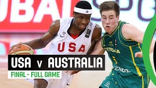 USA v Australia - Final Full Game - 2014 FIBA U17 World Championship