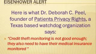 ALERT ALERT Eisenhower Medical Center Lost 514,330 Patient Records