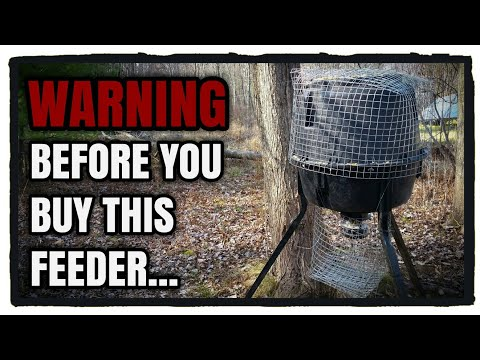 Moultrie Deer Feeder: Watch This Before You Buy!