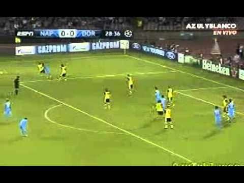 liga champion Gol di Higuain Napoli   Borussia Dortmund 1 0) 18 09 13 Travel Video