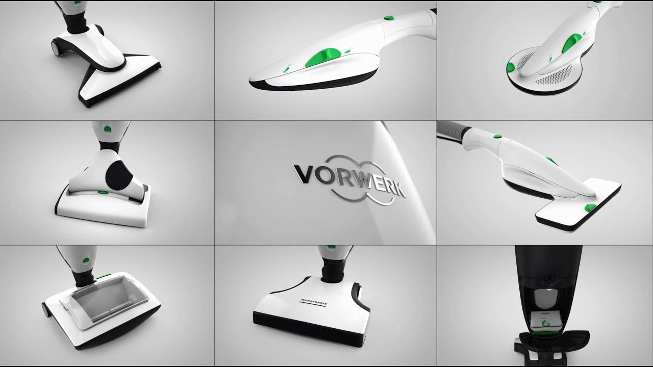 Das neue Kobold Reinigungssystem  Vorwerk Kobold VK200 ...