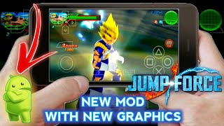 DOWNLOAD NEW Jump Force Dbz TTT Mod For Android ISO + HD MENU With New Attacks
