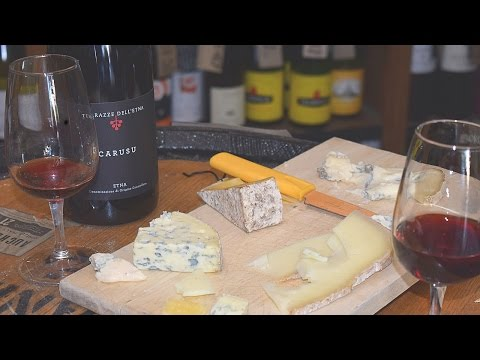 Tasting Terrazze Dell'Etna `Carusu Etna` Rosso with The Roving Fromagiere