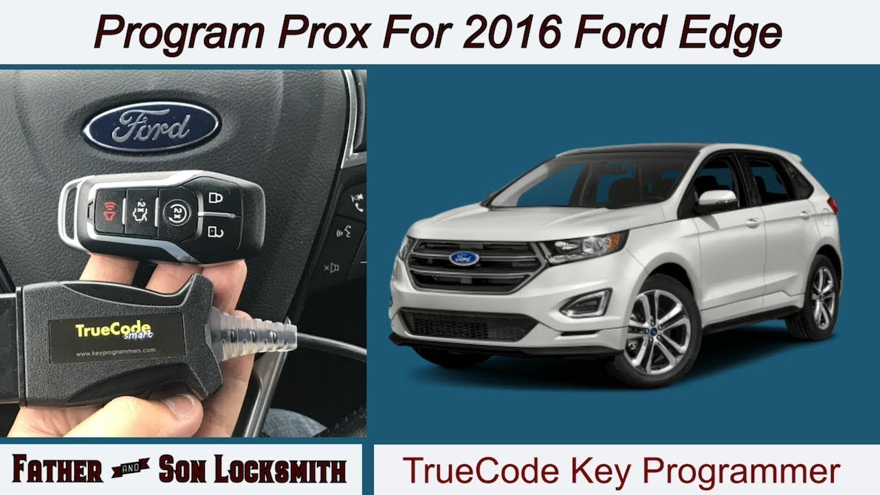 Truecode Program Proximity Key For  Ford Edge