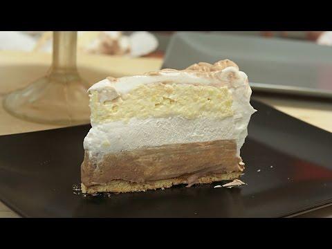Nepečena Milka torta