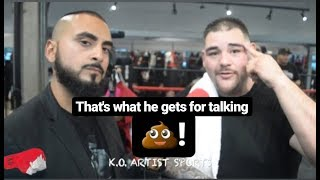 """""""IT WAS HORRIBLE BUT THAT'S WHAT HE (TYSON FURY) GETS FOR TALKING $HlT!"""