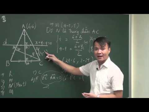 Hình học phẳng - Phương pháp độc đáo giải bài toán tam giác P2- Thầy Phạm Quốc Vượng