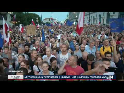 The Rundown | Polish president halts justice reforms over protests