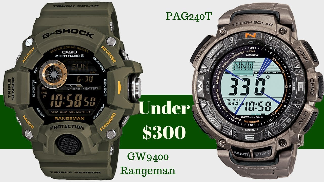 f8f5affa2 $300 And Under | Casio Pathfinder PAG240T Alternatives | Subscriber Video  Request