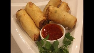 Thai - Spring Roll Recipe - Egg Roll