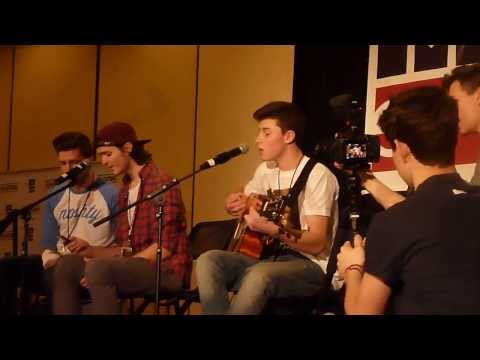 Shawn, Jacob, & Dustyn sing Wanted (Day 1: Bay Area Magcon)