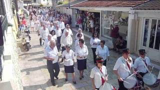 2015 Procession, The Assumption of the Virgin Mary Kassiopi, Corfu Greece