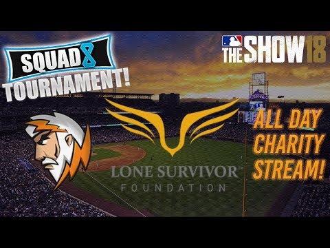 Sparky Gaming| MLB the Show 18| Charity Marathon Stream!!  | Come support Lone Survivor Foundation