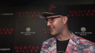Hunter Killer Red Carpet Interview With Donovan Marsh - Director