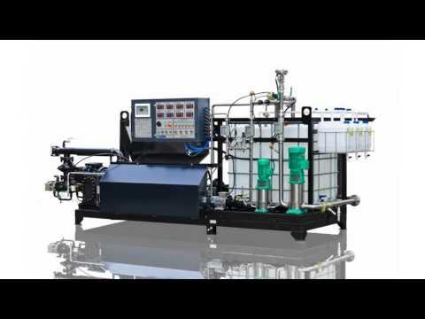 Производство битумных эмульсий. Установка битумная УВБ-1 (2 м.куб./час)