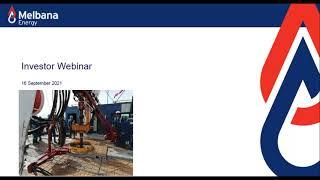 Investor Stream Webinar Series: Melbana Energy Limited (ASX:MAY) (September 16, 2021)
