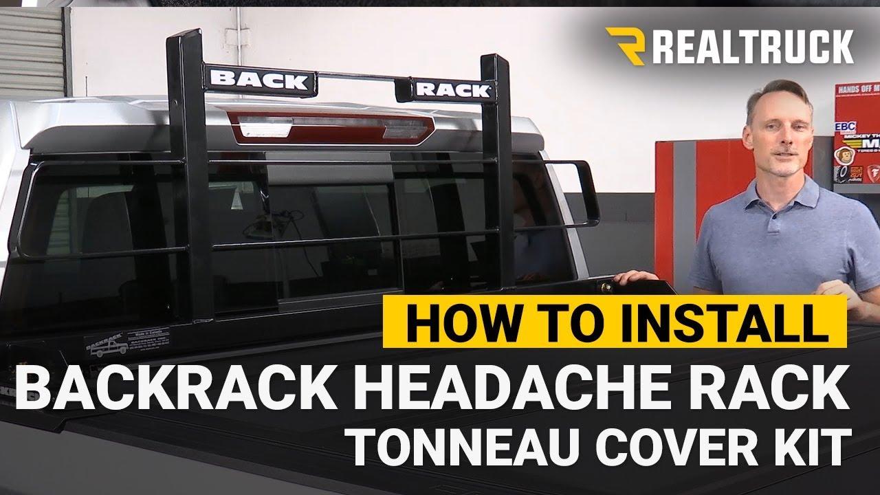 How To Install Backrack Original Headache Rack Tonneau Cover Kit