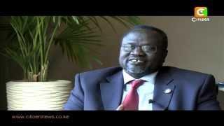 Dr. Riek Machar On S. Sudan Peace Process