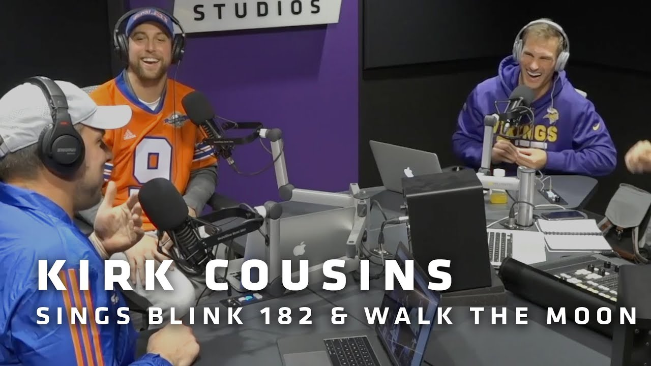kirk-cousins-shows-off-his-musical-talent-sings-blink-182-and-walk-the-moon-songs