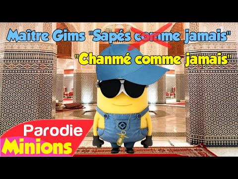 """(Parodie Minions) """"Chanmé Comme Jamais"""" (de Maître Gims - Sapés Comme Jamais)"""