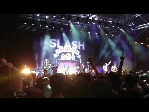 Slash Featuring Myles Kennedy live in Singapore 2019  Night Train part 1 Mp3