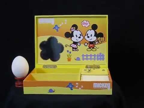 Mickey mouse jewelry box music box series YouTube