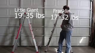 $189 Little Giant Ladder Vs $99 Harbor Freight Ladder