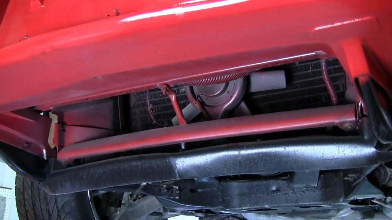C4 Corvette Cutaway Front Air Intake