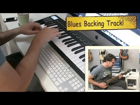 Building A Blues Backing Track