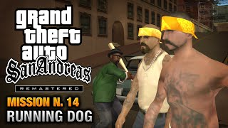 GTA San Andreas Remastered - Mission #14 - Running Dog (Xbox 360)