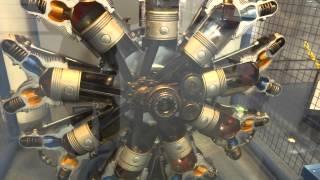 星型エンジンの構造