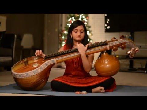 O cheliya naa priya sakhiya / Ennavale on Veena by Anjani Vadlamani