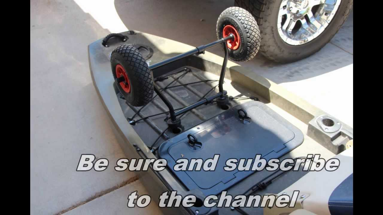 Ascend Sit On Top Kayak Cart Review Youtube