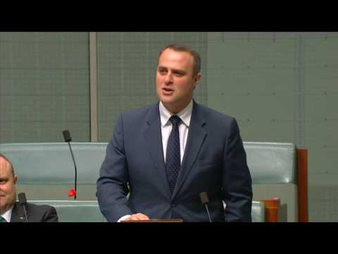 Tim Wilson - Australian Parliament of Cereal - House of Representatives
