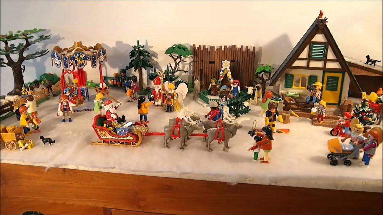 Video Decoration Noel Playmobil