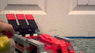 Angry birds go Lego reds super roaster