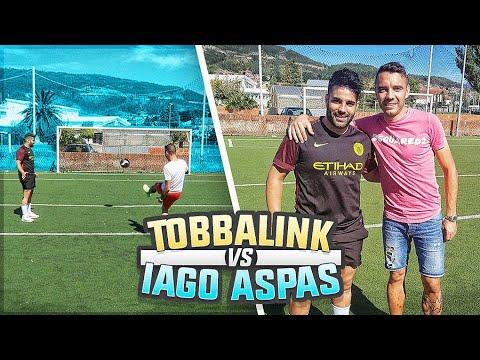 ¡¡¡ IAGO ASPAS vs TOBBAL !!! - El reto MAS ÉPICO de FUTBOL