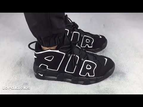 f8ce7f4b8a NIKE AIR MORE UPTEMPO OBSIDIAN REVIEW + ON FEET YouTube