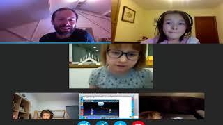 Примеры групповых онлайн-уроков английского с носителями языка (7-15 лет)