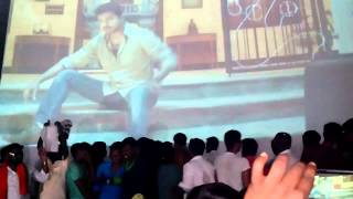 kaththi interval block @  albert theatre 100th day