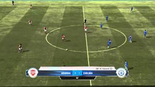 FIFA 12 PC gameplay Arsenal - Chelsea