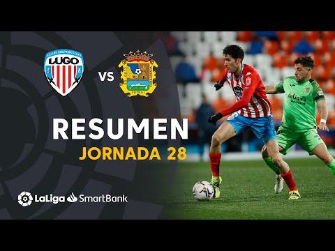 Lugo CF Fuenlabrada Goals And Highlights