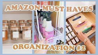 AMAZON MUST HAVES 🧺 Organization Tips ~ Part 2   tiktok made me buy it