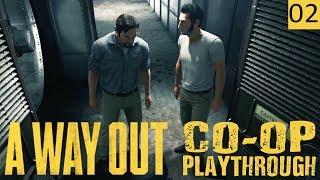 A WAY OUT - PART 2 - MASTER TEAMWORK - Co-Op Gameplay (1440p)