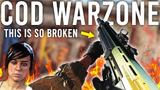 Call of Duty Warzone - This Gun is so STUPID!